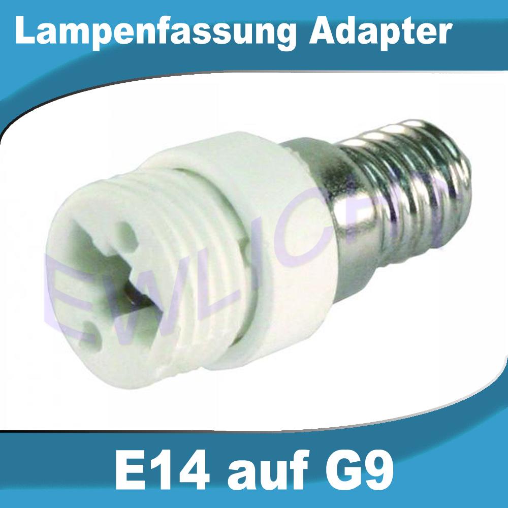 lampensockel e14 e27 auf gu10 g9 leuchtmittel adapter. Black Bedroom Furniture Sets. Home Design Ideas