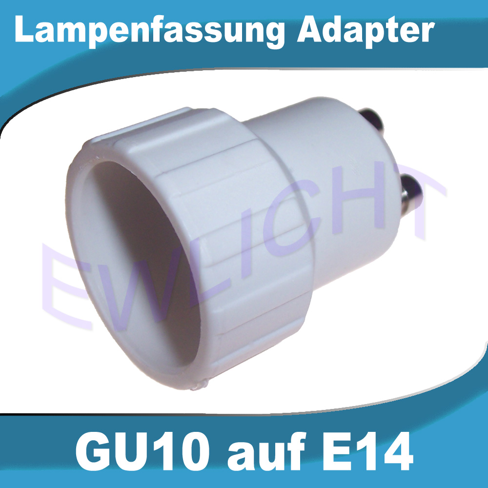 lampensockel e14 e27 auf gu10 g9 leuchtmittel adapter konverter gl hbirne led ebay. Black Bedroom Furniture Sets. Home Design Ideas